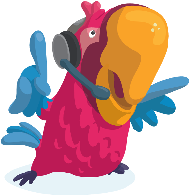 Communication parrot